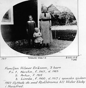 Hilmer Erikssons barn