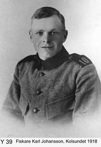 Fiskaren Karl Johansson 1918