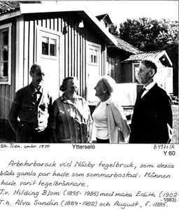 Arbetarbaracker vid Näsby