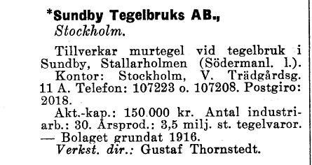 ...ur Industrikalendern 1947