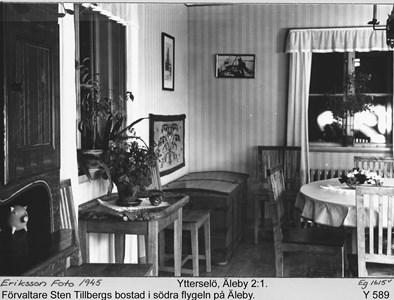 Förvaltarens Sten Tillberg bostad