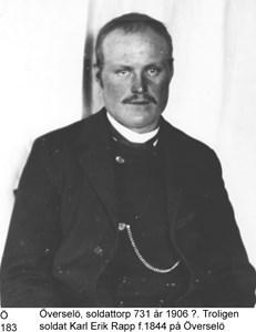 Soldaten Karl Erik Rapp