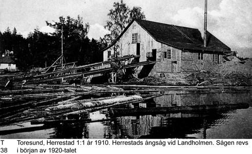 Landholmens ångsåg