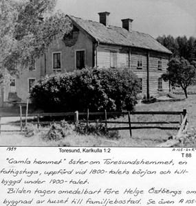 Gamla hemmet 1954