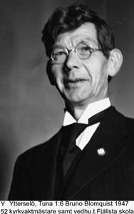 Bruno Blomquist - kyrkvaktmästare
