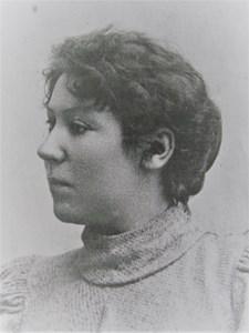 Elise Holm f Lindberg ca 1897