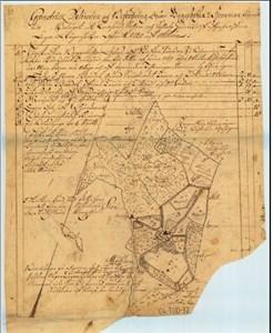 Karta från 1720