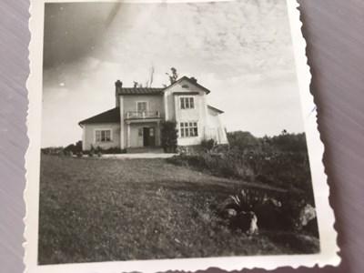Den Fersenska villan. Vy från Hornbyviken.
