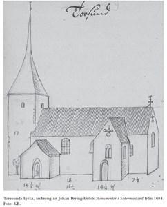 Toresunds kyrka 1680-tal