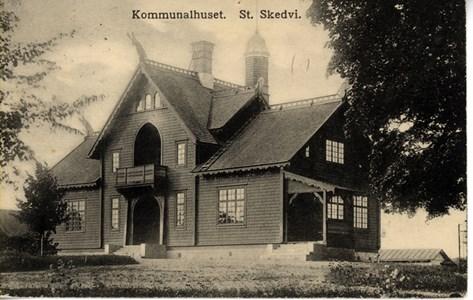 Kommunalhuset. gamla