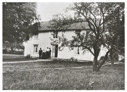 Gamla huset på Svarttorps Norrgård 1907