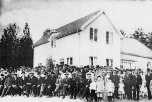 Invigning av Torpöns Missionshus 1925