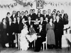 Tekla och Stures bröllop 1934-12-29