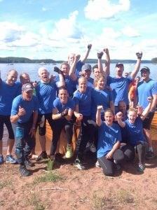 Torpöns vinnande Dam- och Herrlag i Sommarodden 2015