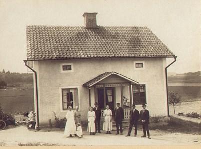 Haga gård, 1918