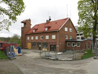 Brandstationen renoveras 2015