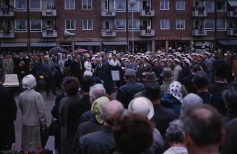 Invigning av Vattenbärerskan, 1967