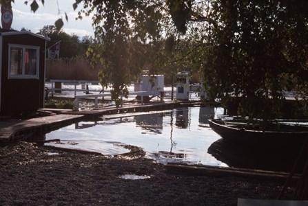 Sjömacken i Torshällaån, Antons brygga, slutet 1960-tal