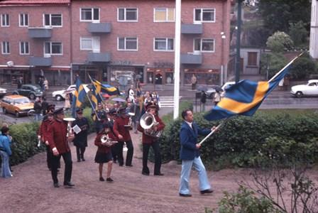 Svenska flaggans dag, 1970 tal