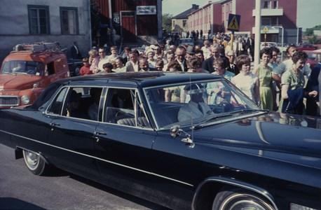 Prinsessan Christina gästar Torshälla, 1967
