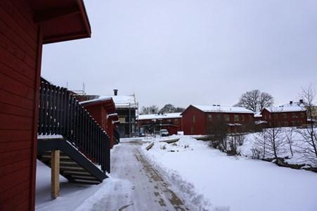 Bostäder på Holmen, längst Lillån, 2016