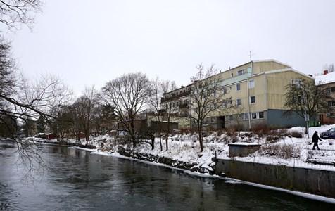 Kvarteret Skepparen och Torshälla ån, 2016