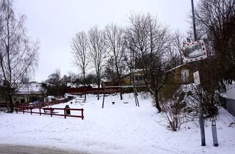 Lekplats vid Klostergatan (nr 5), 2016