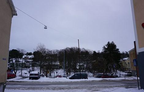 Storgatan 48 och 50 parkering, 2016