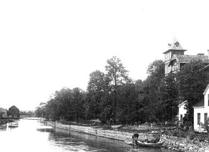 Höglundska villan och gård nr 144, efter 1910