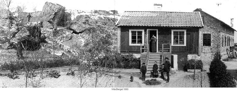 Villa Berget, Klockberget, 1880 tal
