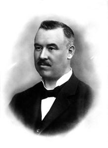 Borgmästare Albin Edsberg, 1848-1924