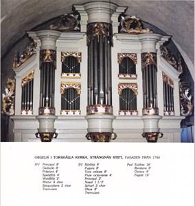 Orgeln i Torshälla kyrka