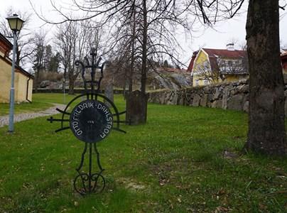 Otto Fredrik Dahlström, äldsta kyrkogården
