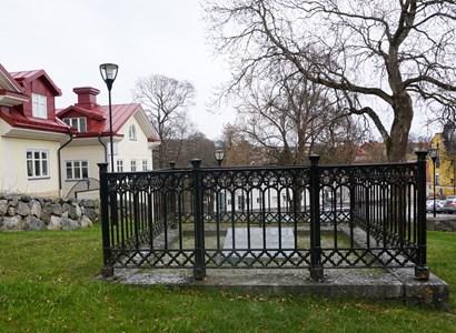 Adolf Zethelius gravplats på den äldsta kyrkogården