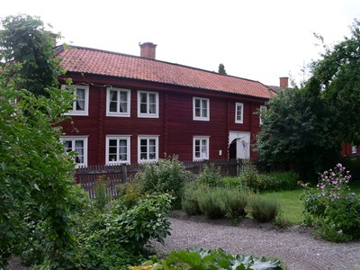 Bergströmska gården och Mormorstäppan