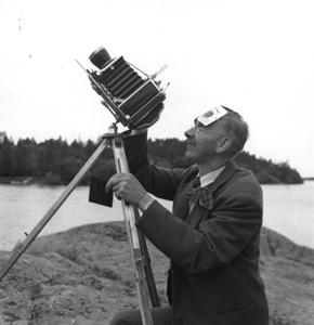 Harald Bäckstrand, 1954