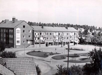 Östra torget , ca 1960