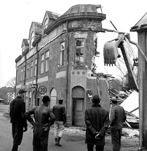 Bankhuset rivs 1966