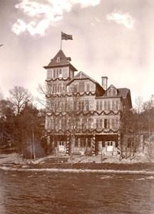 Höglundska villan vid invigningen 1903