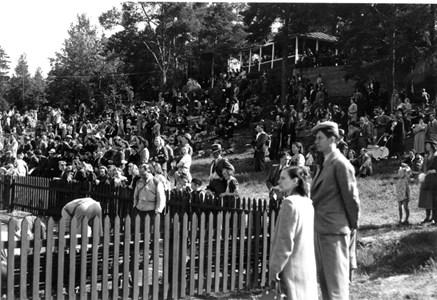 Invigning av Torshargs IP 1943