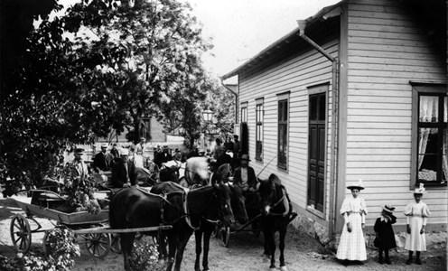 Mjölkleverans till Mejeriet, gård 46