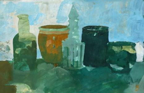 Oljemålning av Georg Källkvist