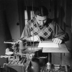 Per Adolfsson på Stålstämpelfabriken 1946