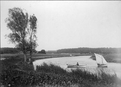 Torshällaån, slutet 1800