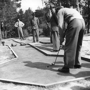 Torshälla Mini Golfklubb arrangerade SM 1949