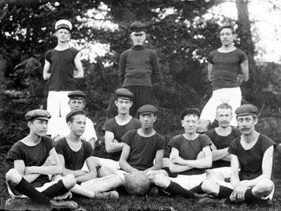 Torshällas första fotbollslag GUIF