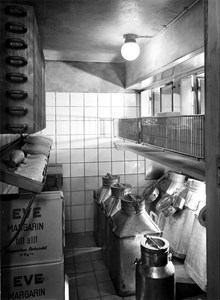 Mjölkkyl på 1940-talet