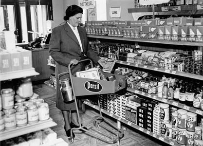 Snabbköp på 1950-talet