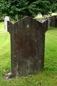 Carl Magnus Selander gravsten