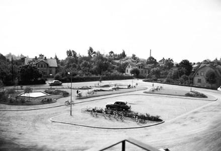 Östra torget, 1954